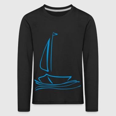 sailboat without - Kids' Premium Longsleeve Shirt