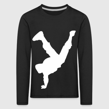 Breakdance Hip Hop Design for Gangster GIFT - Kids' Premium Longsleeve Shirt