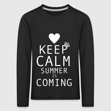 Summer | The summer comes - Kids' Premium Longsleeve Shirt