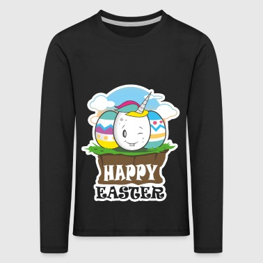 Happy Easter - Ostei cartoon motive - Kids' Premium Longsleeve Shirt