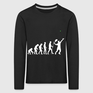 The evolution of tennis as a great gift - Kids' Premium Longsleeve Shirt
