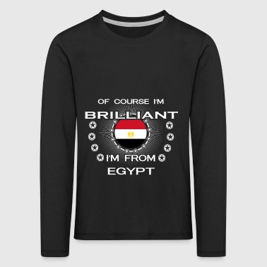 I AM GENIUS CLEVER BRILLIANT EGYPT - Kids' Premium Longsleeve Shirt
