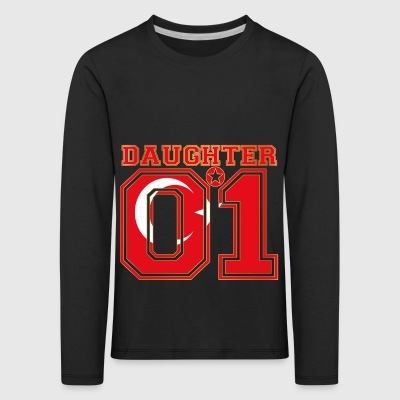 Daughter 01 tochter queen Tuerkei - Kinder Premium Langarmshirt