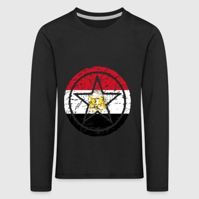 roots star heart love home Egypt png - Kids' Premium Longsleeve Shirt