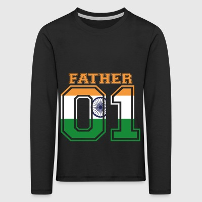 Father father daddy 01 queen India - Kids' Premium Longsleeve Shirt