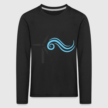 wind energy - Kids' Premium Longsleeve Shirt