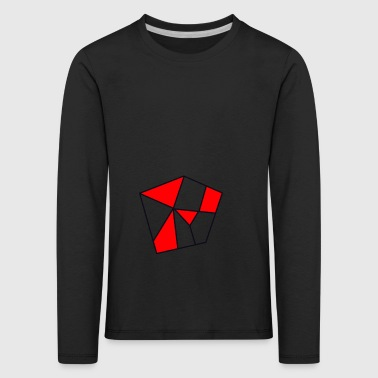 Cool pentagon. Gift idea - Kids' Premium Longsleeve Shirt