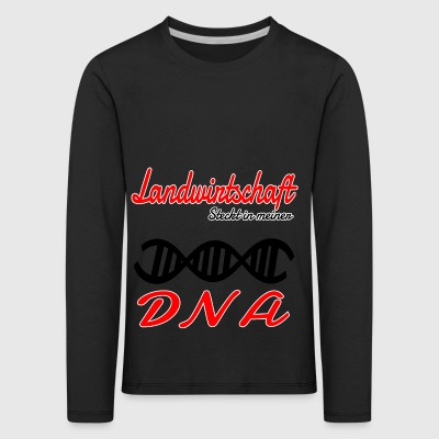 Is in my DNA hobby agriculture - Kids' Premium Longsleeve Shirt