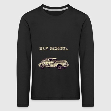 old school - Premium langermet T-skjorte for barn