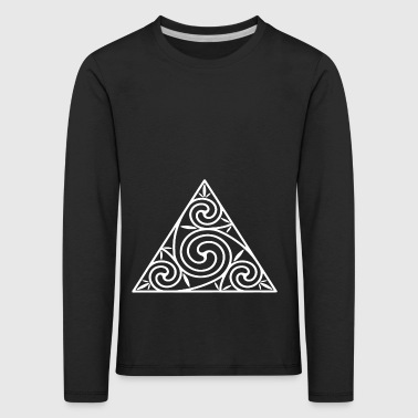 triangle - Kids' Premium Longsleeve Shirt