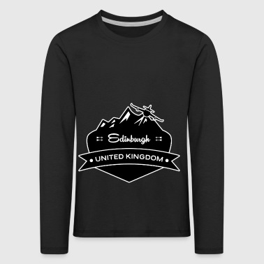 Edinburgh United Kingdom - Kids' Premium Longsleeve Shirt