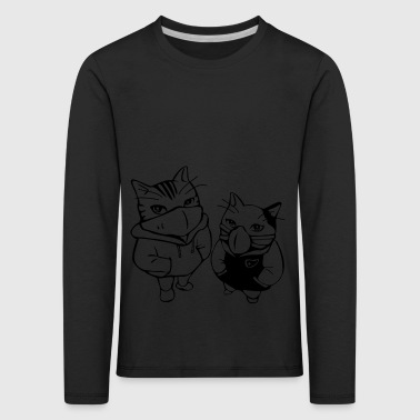 cats - Kids' Premium Longsleeve Shirt