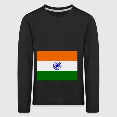 india flag - Kids' Premium Longsleeve Shirt