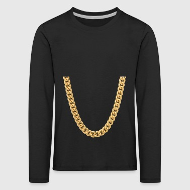 Rapper Chain Gift Costume Shirt - Kids' Premium Longsleeve Shirt