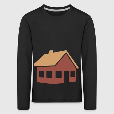 building house homes architektur haus gebaeude211 - Kinder Premium Langarmshirt