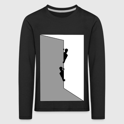 behind the wall - Kids' Premium Longsleeve Shirt