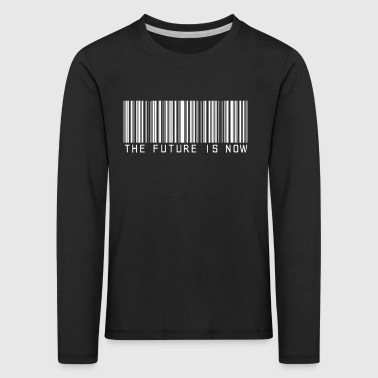 the future is now - Kids' Premium Longsleeve Shirt