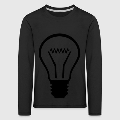 light bulb - Kids' Premium Longsleeve Shirt