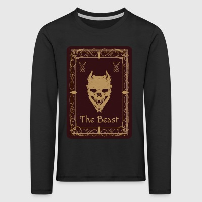The Beast Tarot - Kids' Premium Longsleeve Shirt