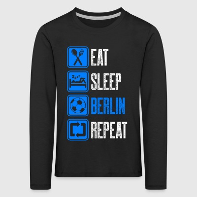 Repeat Berlin - Kids' Premium Longsleeve Shirt