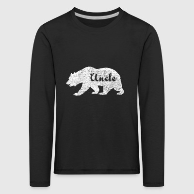 Uncle Bear. Gifts for uncles. Camping. Wildlife. - Kids' Premium Longsleeve Shirt