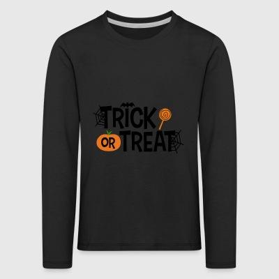 Trick or treat - Kinder Premium Langarmshirt