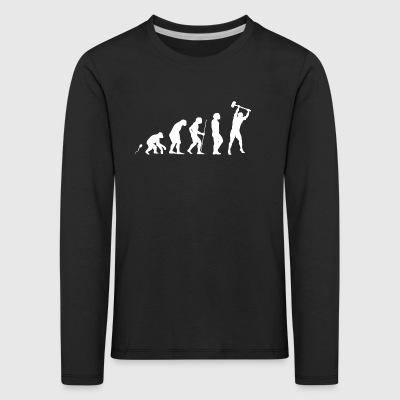 Worker Stemm Hammer Suggestion hammer - Kids' Premium Longsleeve Shirt