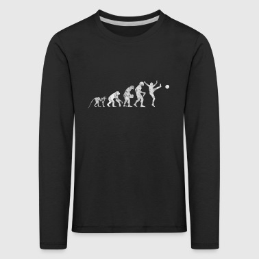 Evolution football shirt gift kick kicker - Kids' Premium Longsleeve Shirt