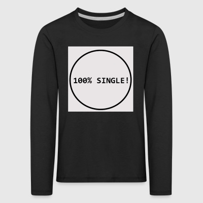 Single - Kinder Premium Langarmshirt