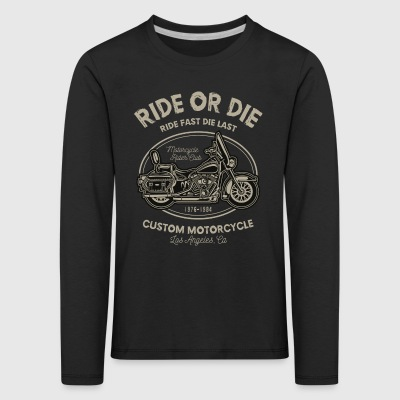 Ride Or Die - Premium langermet T-skjorte for barn