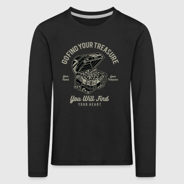 Treasure - Kids' Premium Longsleeve Shirt