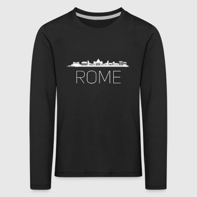 rome skyline Italy colosseum Vacation Tourist Trip - Kids' Premium Longsleeve Shirt