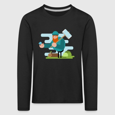 Forest Friend - Kids' Premium Longsleeve Shirt