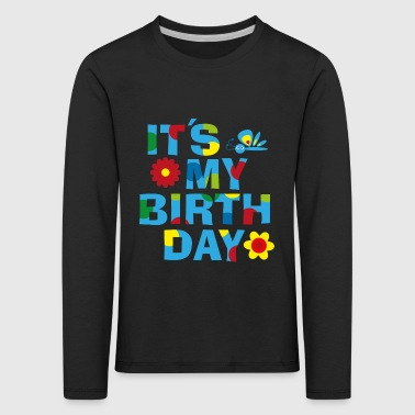 Birthday Jungs - Kinder Premium Langarmshirt