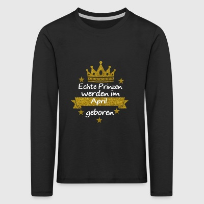 Beautiful gift for become parents - Kids' Premium Longsleeve Shirt