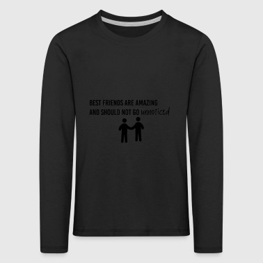 Best friends are amazing - Kids' Premium Longsleeve Shirt