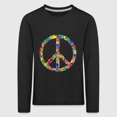 Peace sign - Kids' Premium Longsleeve Shirt