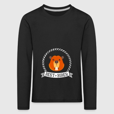 Beaver best great humor singer fan music just jubel - Kids' Premium Longsleeve Shirt