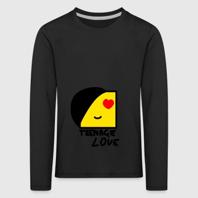 Emo Boy: Teenage Love - Långärmad premium-T-shirt barn