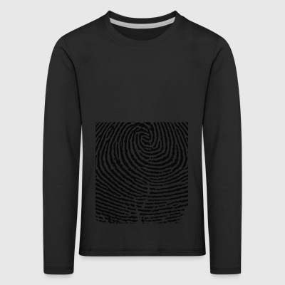 fingerprint - Kids' Premium Longsleeve Shirt