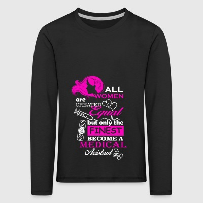 all women are created equal - Kids' Premium Longsleeve Shirt