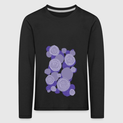 Abstract flowers 004 - Kids' Premium Longsleeve Shirt