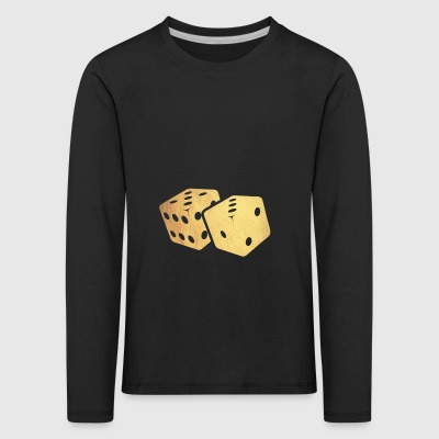 golden dice - Kids' Premium Longsleeve Shirt