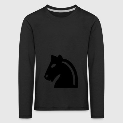 Chess horse - Kids' Premium Longsleeve Shirt