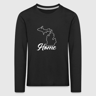 Proud to be From Michigan - Kids' Premium Longsleeve Shirt