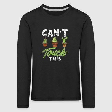 Funny Cactus Shirt Distressed - Kids' Premium Longsleeve Shirt