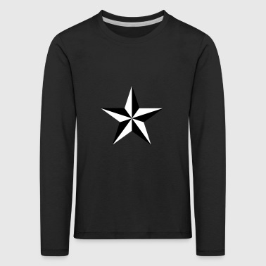 nautical star - Kinder Premium Langarmshirt
