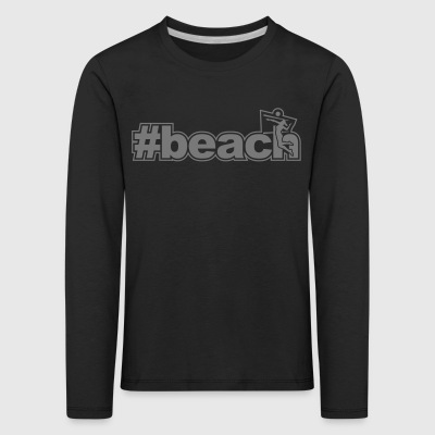 beach woman network xx - Kids' Premium Longsleeve Shirt