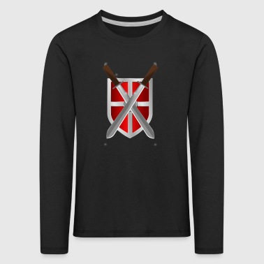 shield - Kinder Premium Langarmshirt