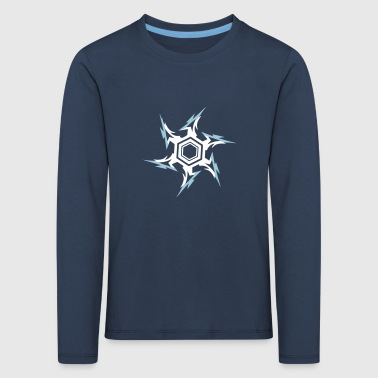 Ninja throwing star - Kids' Premium Longsleeve Shirt